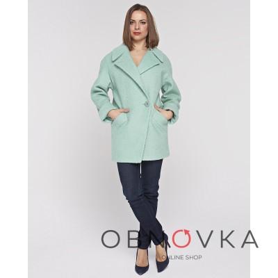 Пальто-пиджак женское кашемир