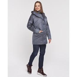 Куртка атласная с капюшоном Mangust 3079