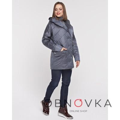 Куртка из атласа женская
