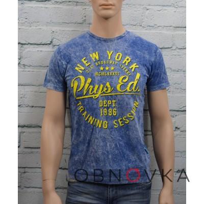 Серая футболка мужская
