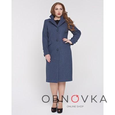 Пальто больших размеров женкое