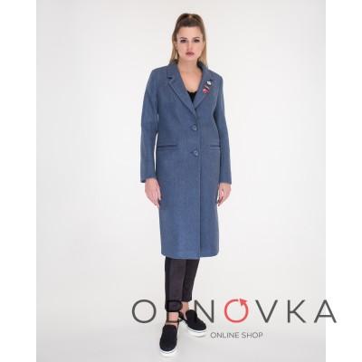 Женское классическое пальто ниже колена