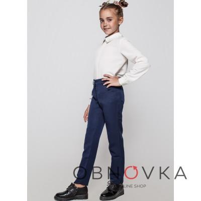 Шкільні штани для дівчинки клубні