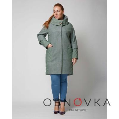 Женское  свободное пальто