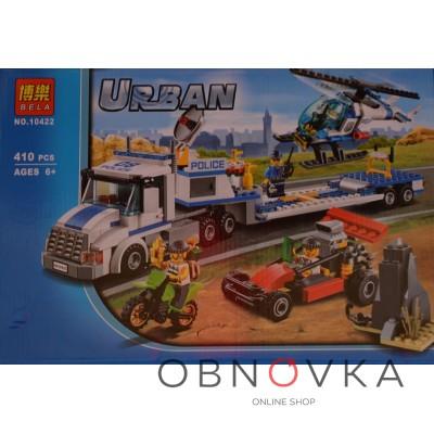 Детский конструктор грузовик