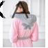 Жіночий махровий халат Dien 003