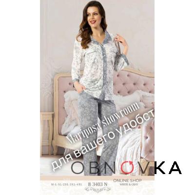Пижама женская ботал