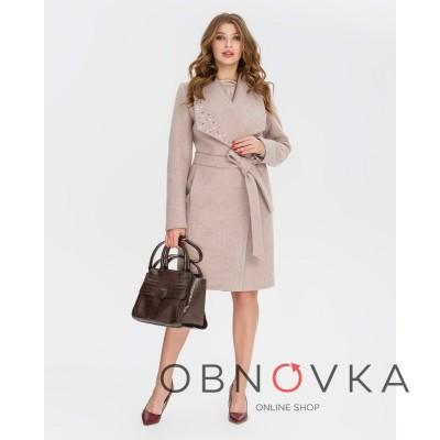 Женское пальто демесизонное