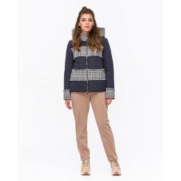 Женская твидовая куртка Mangust 3107 синий