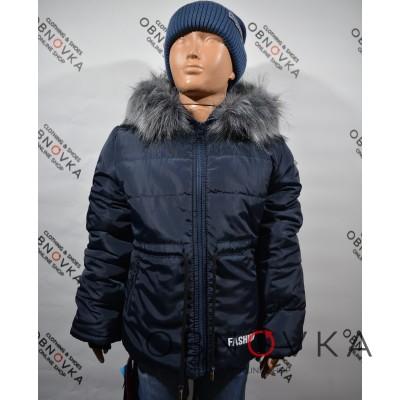 Зимова куртка дитяча хлопчик