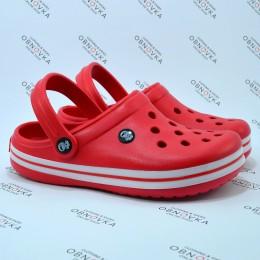 Детские кроксы Calypso 001 красные