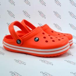 Детские кроксы Calypso 001 оранжевые