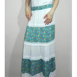 Женская летняя длинная юбка Online 5