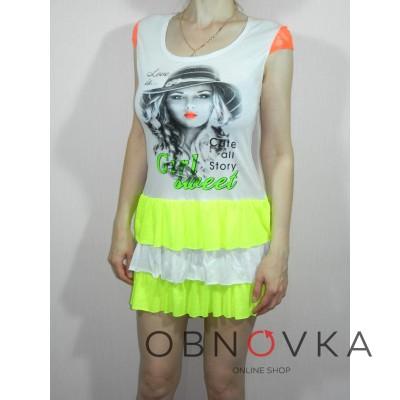 Літній короткий жіноче плаття