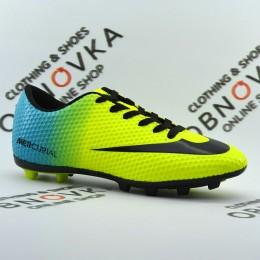Футбольные бутсы (копы) Walked 001 yellow
