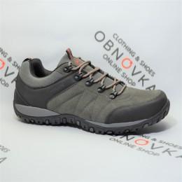 Мужские треккинговые кроссовки Restime 20603 серые