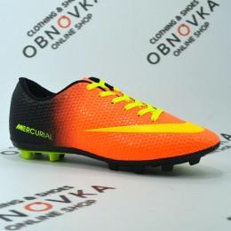 Футбольные бутсы (копы) Walked 001 orange