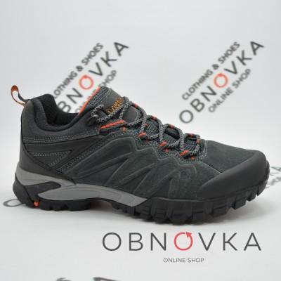 Чоловічі трекінгові кросівки Restime 20873 сірі
