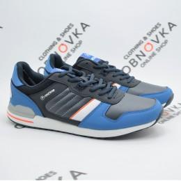 Мужские кроссовки  Restime PMB15054 синие