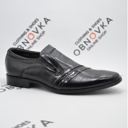 Туфлі чоловічі чорні Міда 11244