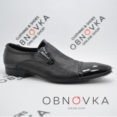 Лаковые туфли мужские