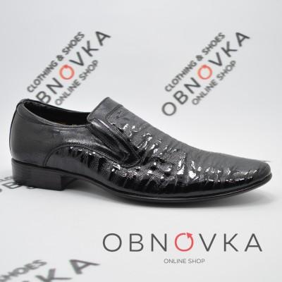 Туфлі чоловічі класичні чорні Міда 11208