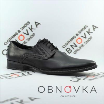 Туфли мужские классические на шнурках