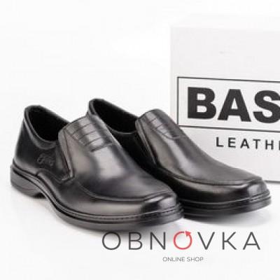 Туфлі чоловічі чорні bastion 015