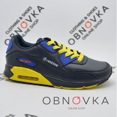 Жіночі (підліткові) кросівки Restime PWL 15142 жовті