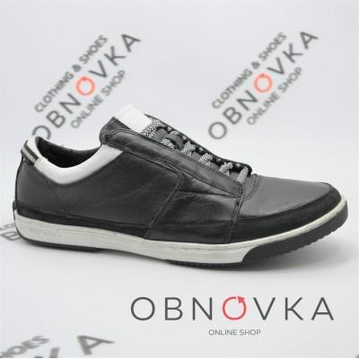 Чоловічі кросівки шкіряні Mida 11291