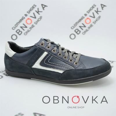 Чоловічі кросівки шкіряні Mida 11301