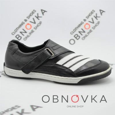 Кожаные кроссовки мужские Mida