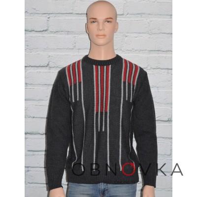 Вязаный свитер мужской