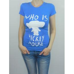 Женская футболка чебурашка