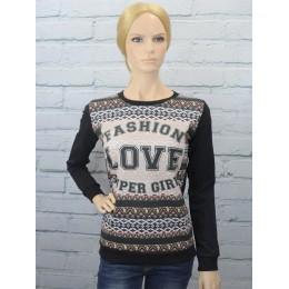 Мягкий свитшот женский Fashion Love