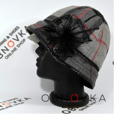 Женская утепленная шляпа