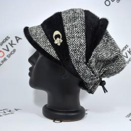 Женская утепленная кепка Mangust 134