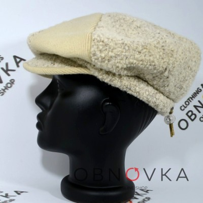 Женская утепленная кепка недорого
