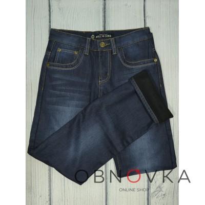 Женские недорогие утепленные джинсы