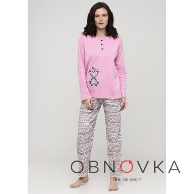 Пижама женская текстиль