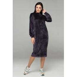Женское велюровое платье  Arizzo 387