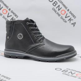Ботинки зимние мужские Bastion 18045 черные