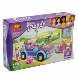 Конструктор Friends, 129 деталей, в коробке, 10167