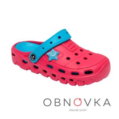 Дитячі крокси - сандалі рожеві ТМ Calipso-0153