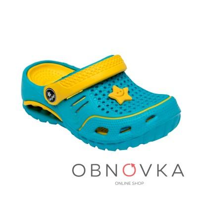 Дитячі крокси блакитні ТМ Calipso 0154