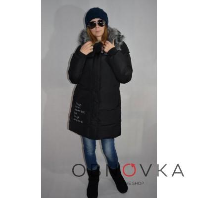 Пуховик жіночий Fashion Orssmang 15-156