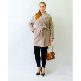 Короткое батальное пальто