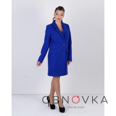 Пальто женское честерфилд
