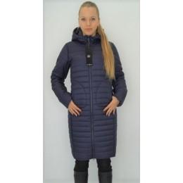 Женское двустороннее пальто Maddis Frida синее