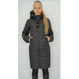 Женская двусторонняя куртка Maddis Frida черная